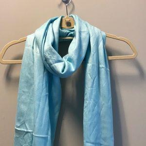 NWOT Turquoise Pashmina
